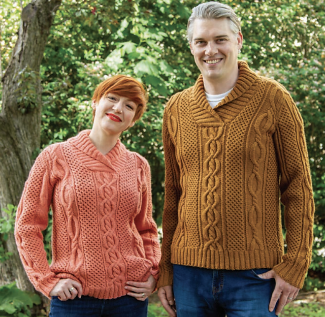 Ravelry Corktown Pullover Pattern By Katherine Poole Fournier Cable Knit Sweater Pattern Sweater Pattern Sweater Knitting Patterns