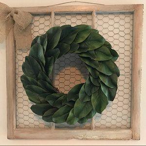 Photo of Farmhouse magnolia wreath