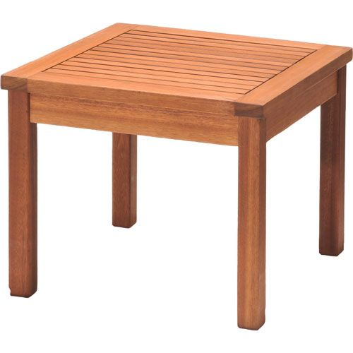 Pacific Pacific Bench Seat Square Side Table 490mm Mitre 10 Square Side Table Home Hardware Outdoor Furniture