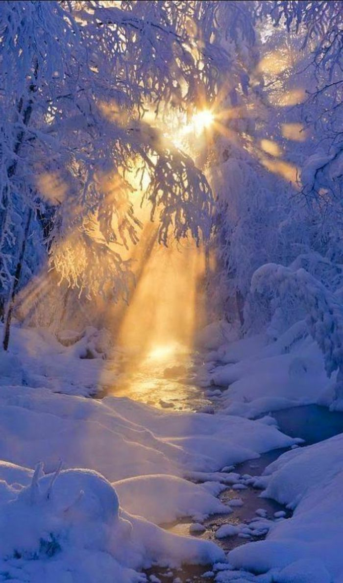 Le paysage d'hiver en 80 images magnifiques! - Archzine.fr - #Archzinefr #dhiver #en #images #Le #magnifiques #paysage #fondecranhiver