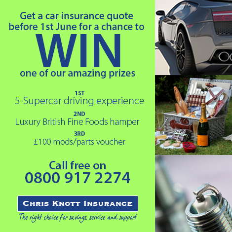 Chris Knott Insurance >> Hi It S Great To Be Able To Bring You Another Prize Draw
