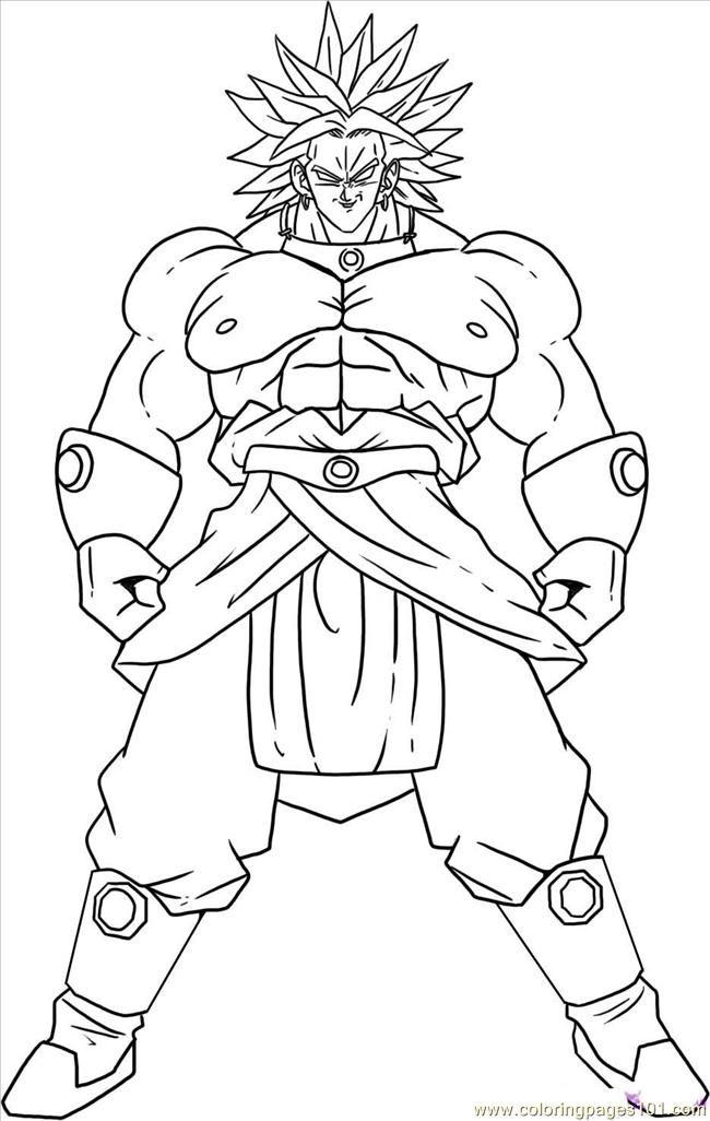 Imágenes de Goku y sus transformaciones para colorear   Colorear ...