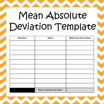 Worksheets Mean Absolute Deviation Worksheet mean absolute deviation worksheet statistics worksheets maze