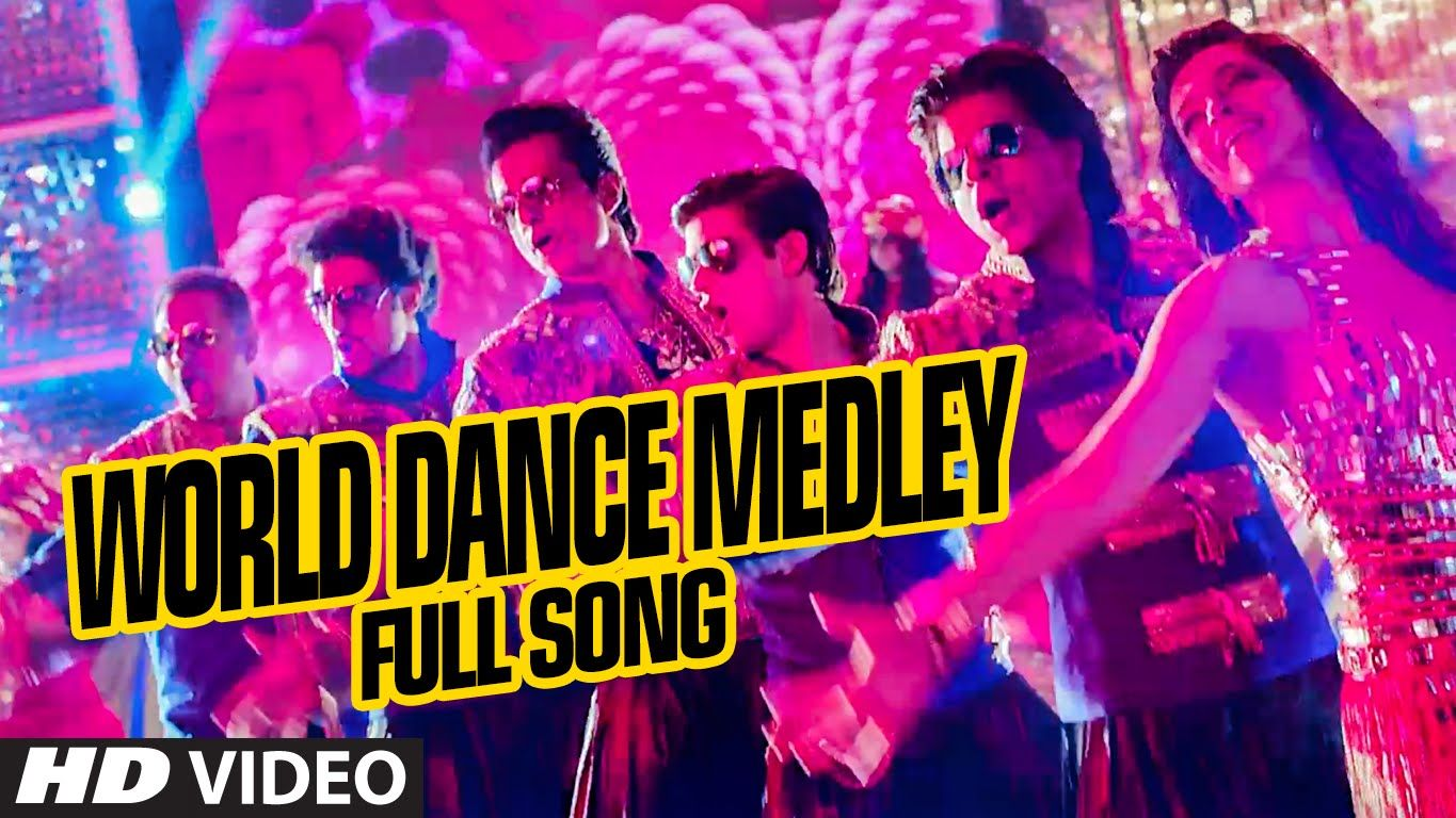 Official World Dance Medley Full Video Song Happy New Year Shah R World Dance Happy New Year Movie Happy New Year Song