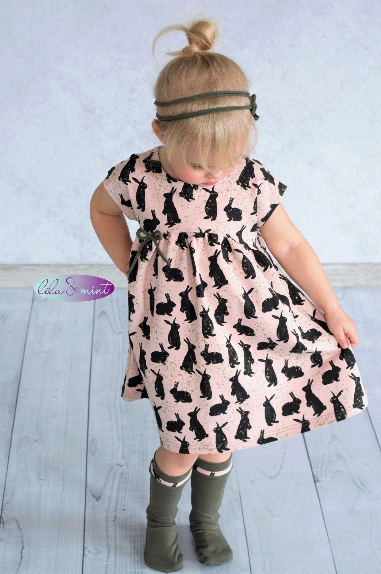 Die wundervolle Ava   Mädchen kleider nähen, Schnittmuster ...