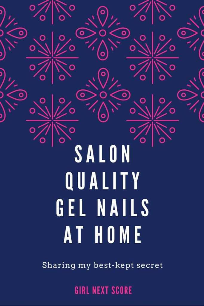 Salon quality gel nail manicure at home | Gel nail tutorial