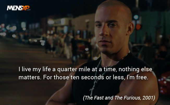 Furious Movie, Film Quotes, Fast