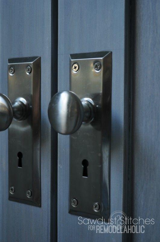Bifold Door Makeover into French Doors | Door makeover, Doors and ...