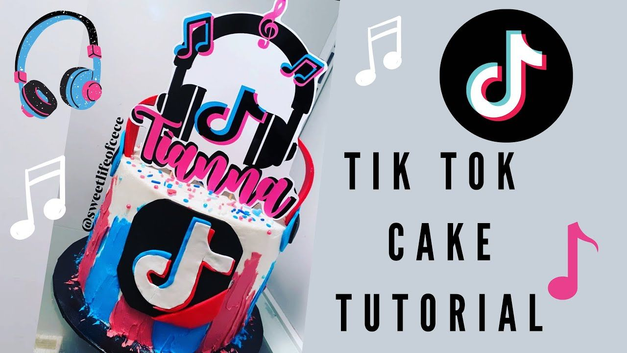 Caking With Cece How To Make Easy Buttercream Tik Tok Cake Youtube Butter Cream Cake Youtube Make It Simple