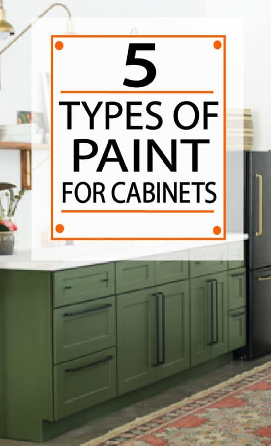 The 5 Best Types of Paint for Kitchen Cabinets - Painted Furniture Ideas