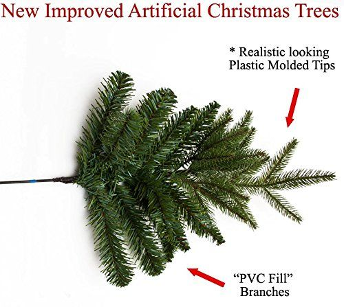 5 Ft Russian Pine Artificial Prelit Christmas Tree With Warm White Led Light Pre Lit Christmas Tree Artificial Prelit Christmas Trees Artificial Christmas Tree