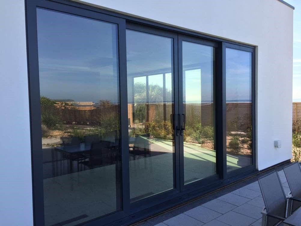 Aluminium Glas Schiebeturen Haus Ramen Huis Ramen Huis Ideeen
