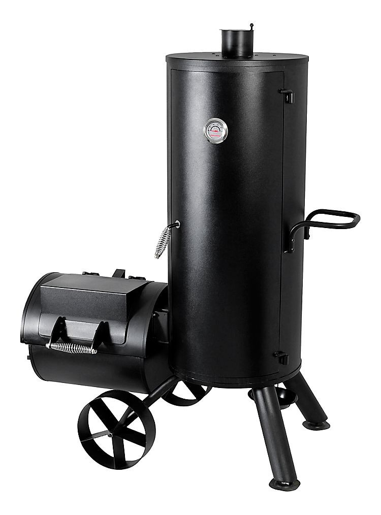 Brinkmann® Vertical Trailmaster Smoker and Grill Bass