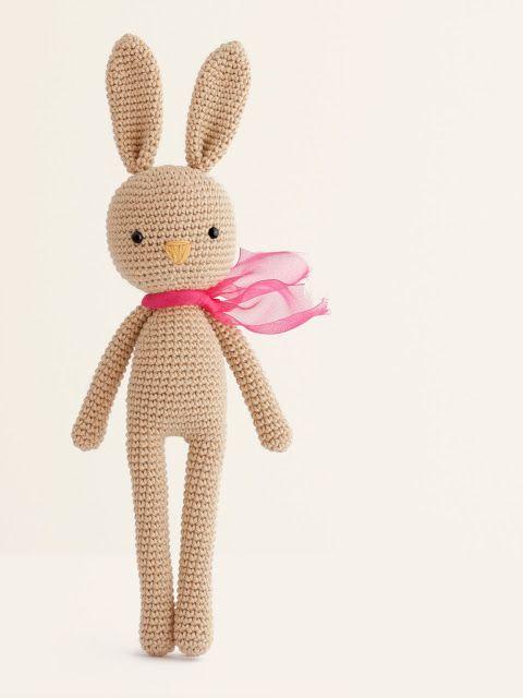 amigurumi-conejo-bunny patron gratis | conejos | Pinterest | Patrón ...