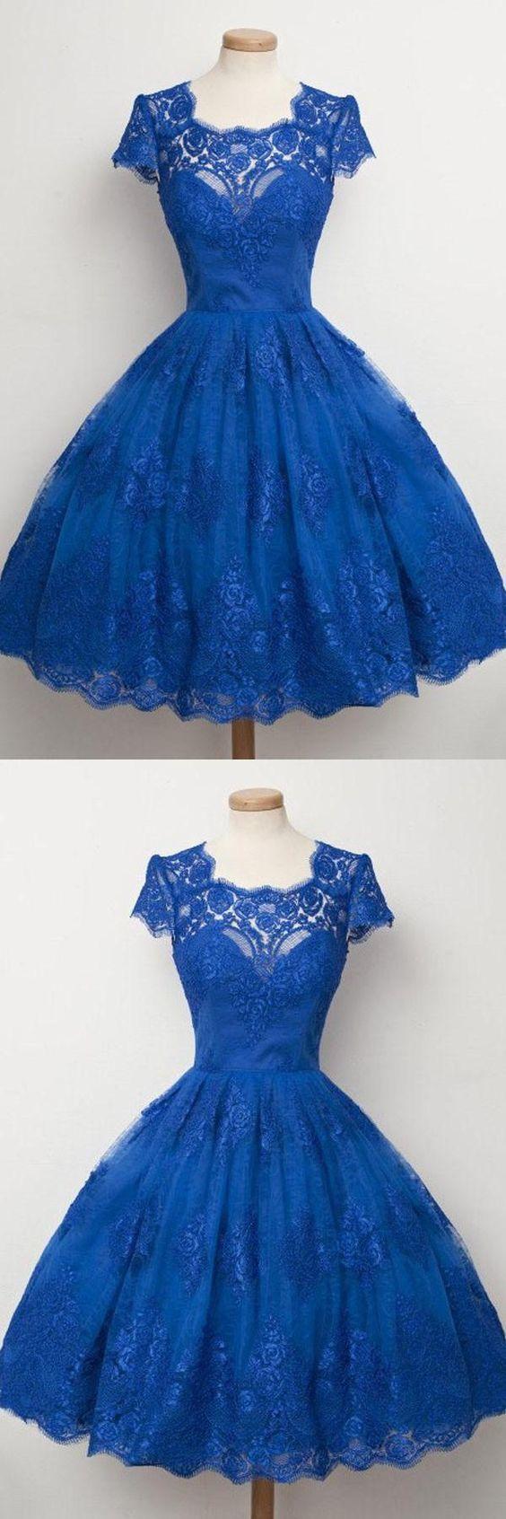 A-Linie Ballkleider, Blau A-Linie / Princess Ballkleider ...
