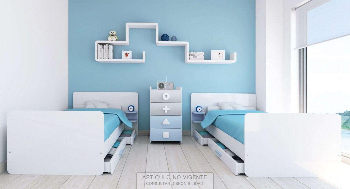 Resultado de imagen para camas ni os gemelos muebles for Camas gemelas juveniles