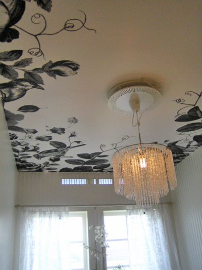 Custom Ceiling Wallpaper By Lisa Bengtsson Wallpaper Ceiling