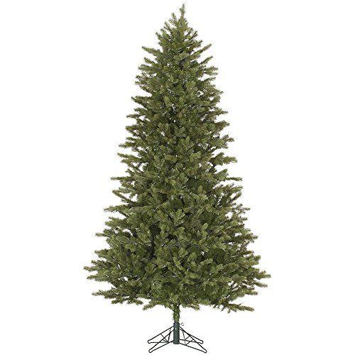 10 Slim Balsam Fir Artificial Christmas Tree Unlit Click Image For More Details Artificial Christmas Tree Christmas Tree Green Christmas Tree