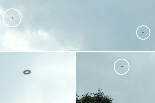 OVNI Hoje!…Reino Unido: Família fica chocada ao ver 4 OVNIs / UFOs sendo perseguidos por um helicóptero - OVNI Hoje!...