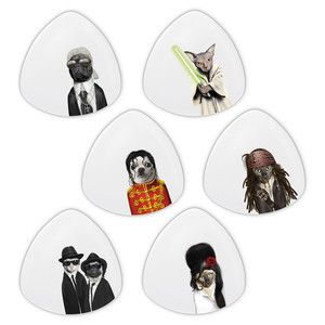 Pets Rock D. Plates White 6 Pcs now featured on Fab.