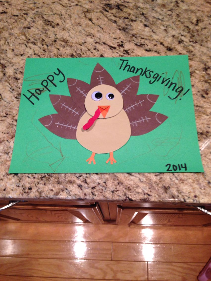 Thanksgiving turkey with football feathers