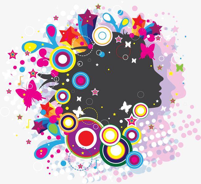 حلم الفراشة الملونة الدائرة دائرة فنية فراشة الأحلام كرنفال Png والمتجهات للتحميل مجانا Butterfly Color Circle