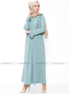 robe hijab turque longue