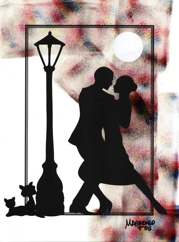 Pin de maria ester finochietti en pintura  Pinterest  Tango