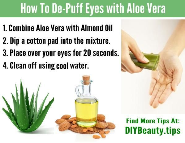 How to get rid of bags under your eyes and reduce swelling ...