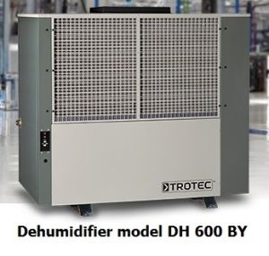 commercial-dehumidifier-modelDH600BY:Vacker group supplies