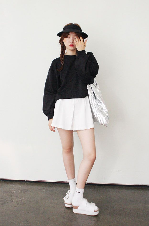 Korean Fashion Black White Koreanfashion Crgang Korea Fashion Korean Fashion Kpop Korean Fashion