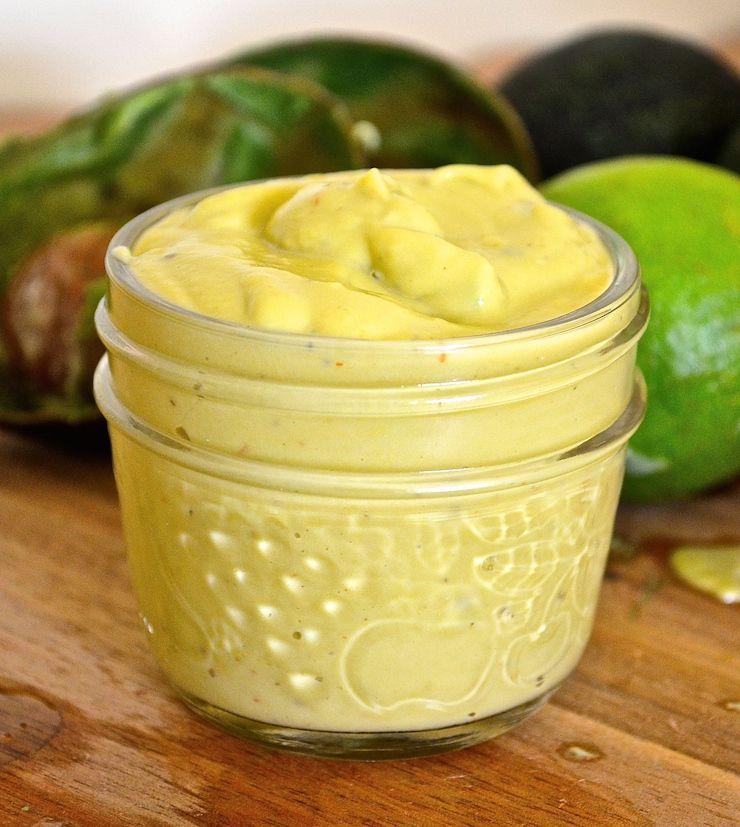 Creamy avocado lime dressing recipe avocado lime
