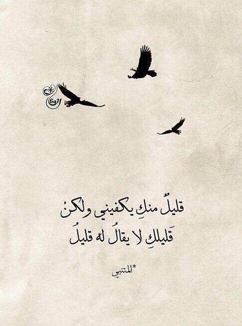 من أشعار المتنبي Wisdom Quotes Life Wisdom Quotes Wonder Quotes