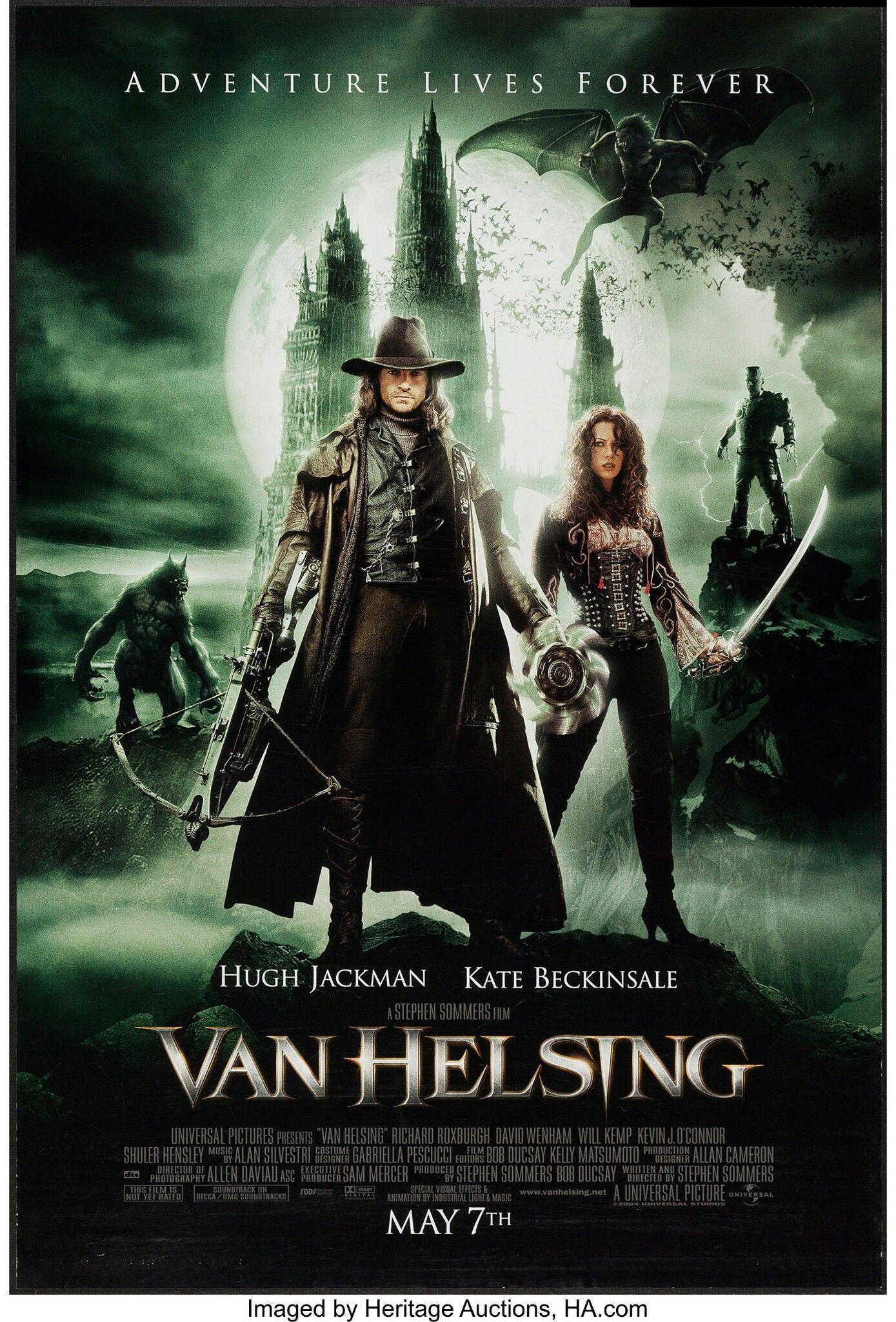 Van Helsing 2004 Vampire Movies Streaming Movies Fantasy Movies