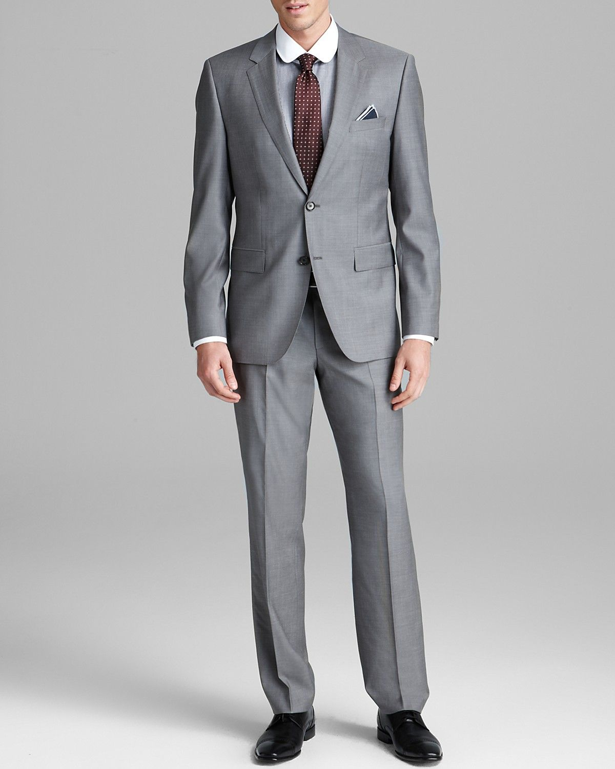 4c2489ee BOSS HUGO BOSS James/Sharp Suit - Regular Fit | Bloomingdale's ...