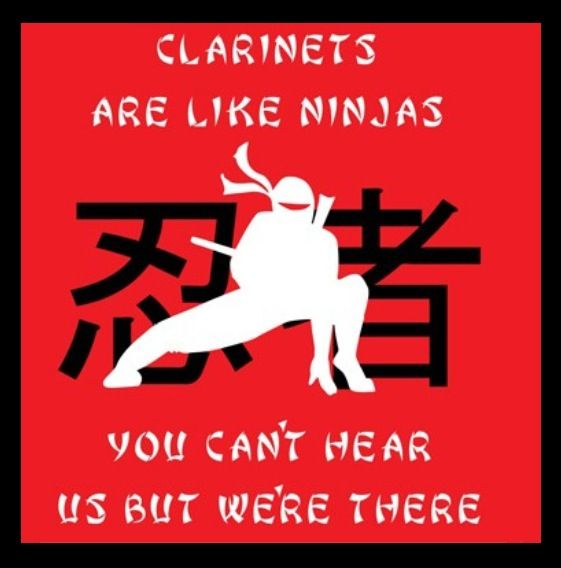 Hah Yes In Marching Season The Really Isn T Any Point In Playing B Clarinet Humor Funny Clarinet Quotes Clarinet