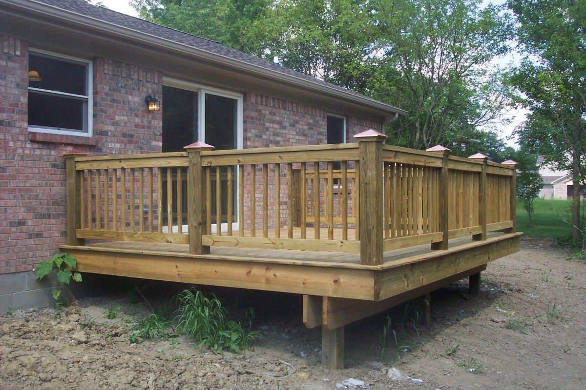 deck railings | Beautiful Decks, Your Design or Ours | Cool decks ...