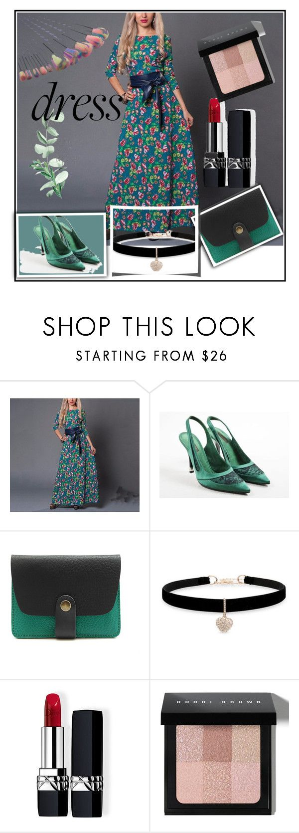 """""""#dreamydresses"""" by lejla150 ❤ liked on Polyvore featuring Louis Vuitton, Betsey Johnson, Christian Dior, Bobbi Brown Cosmetics and dreamydresses"""