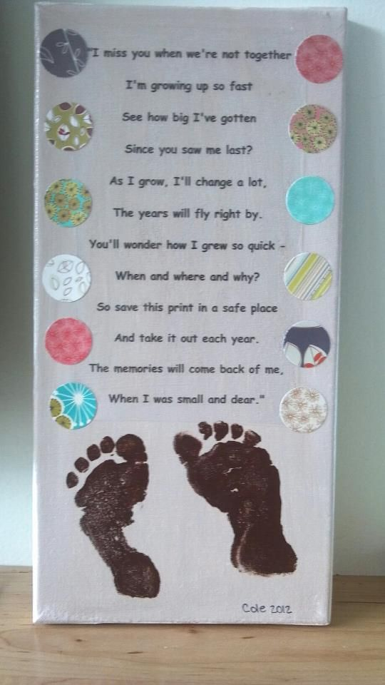7x14 canvas paint canvas print poem on transparency adhere with