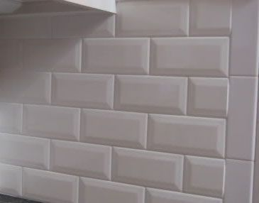 Beveled Subway Tiles Are In Right Now These Will Have