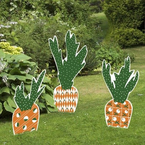 Carrot Easter Yard Sign Set When It Comes To The Element Of Decorations