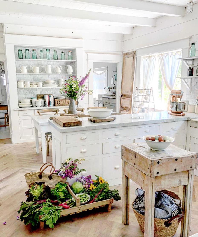 the 15 most beautiful kitchens on pinterest beautiful kitchens farmhouse kitchen inspiration on kitchen decor ideas farmhouse id=40137