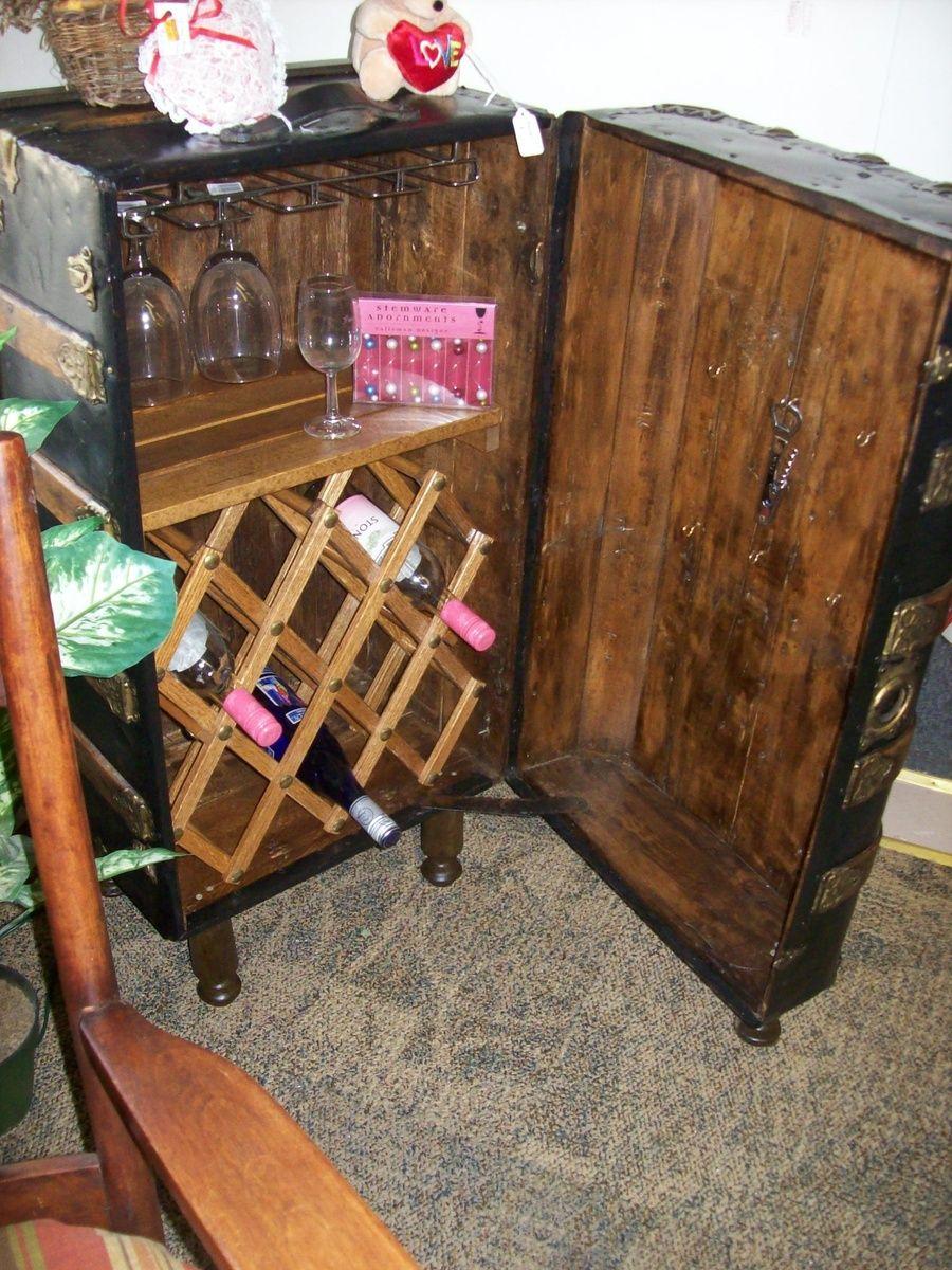 My Steamer Trunk Wine Storage Collectors Weekly Steamer Trunk