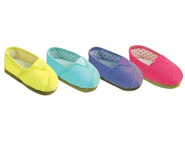 "18/"" Doll Shoes Slip-On Espadrilles fits 18/"" Dolls Slip-On Espadrille Shoes"