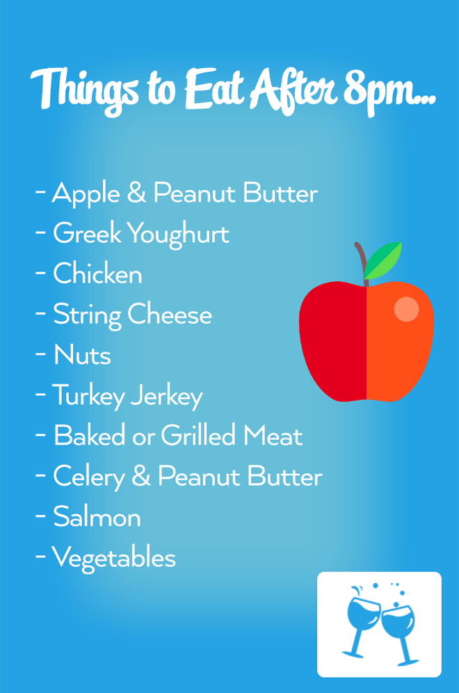 best foods to eat at night