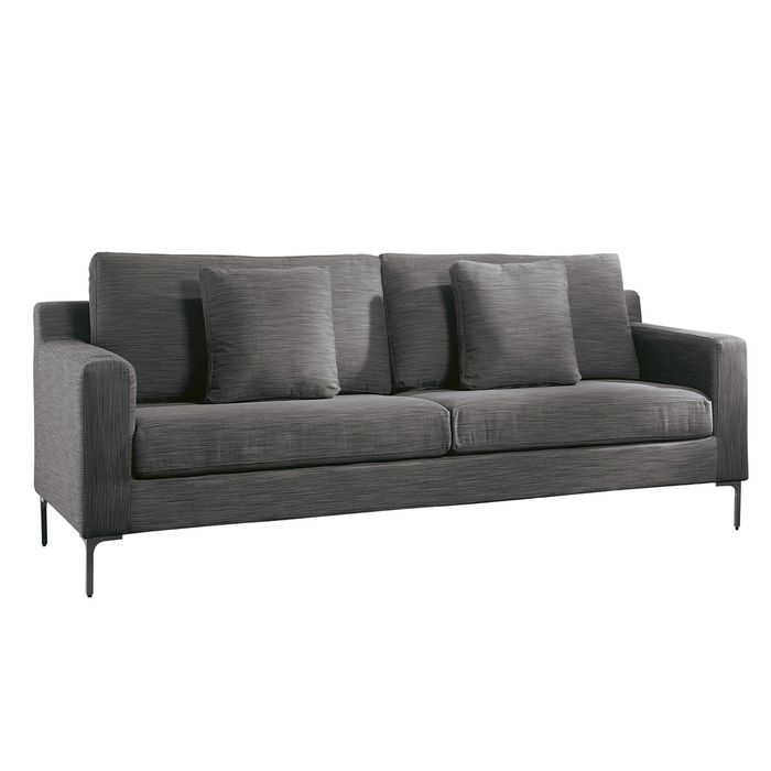 Oslo Three Seater Sofa Grey Three Seater Sofa Sofa Gray Sofa