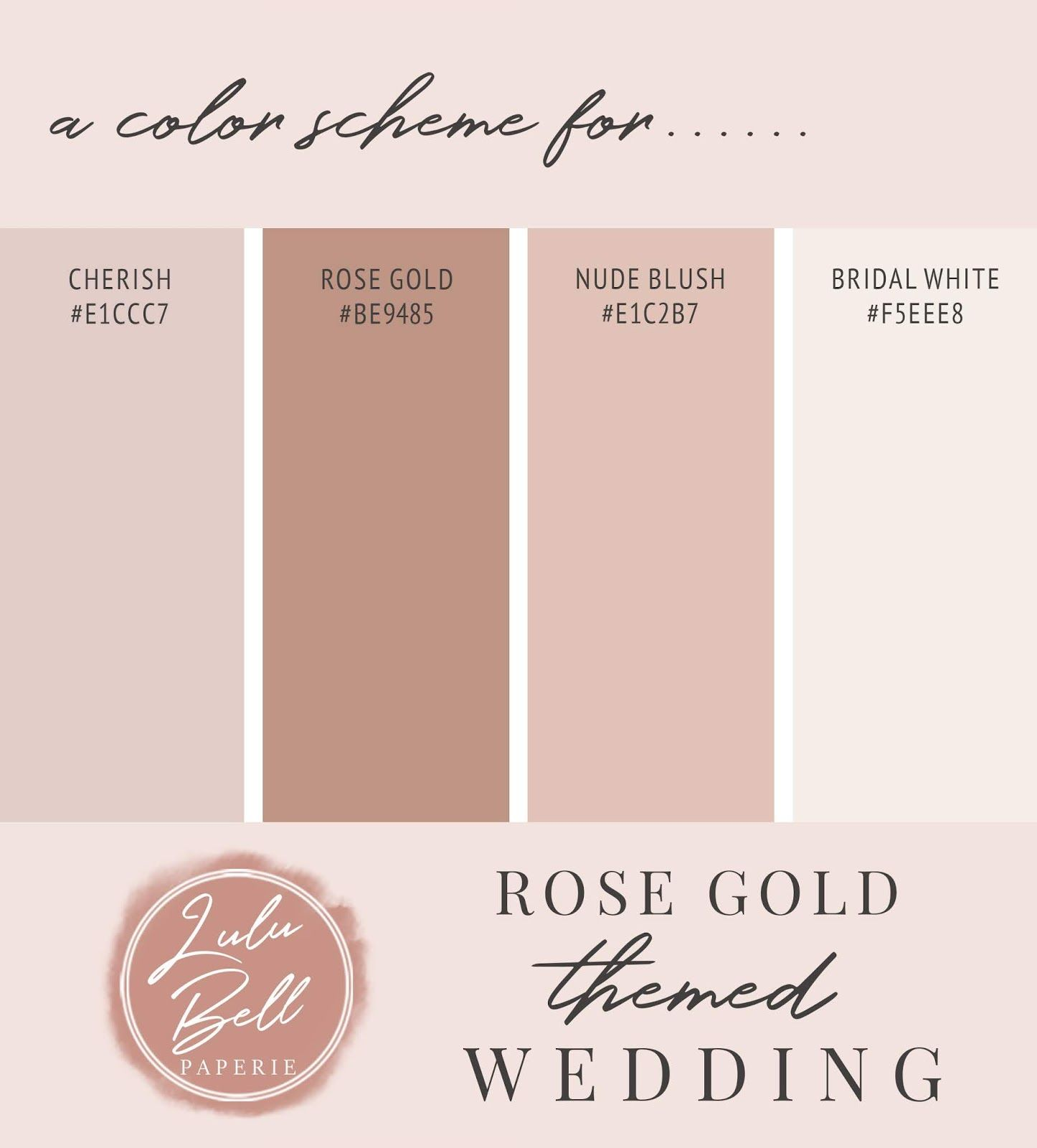 Rose Gold Glitter Look Pink Ombre Wedding Suite Stationery ...