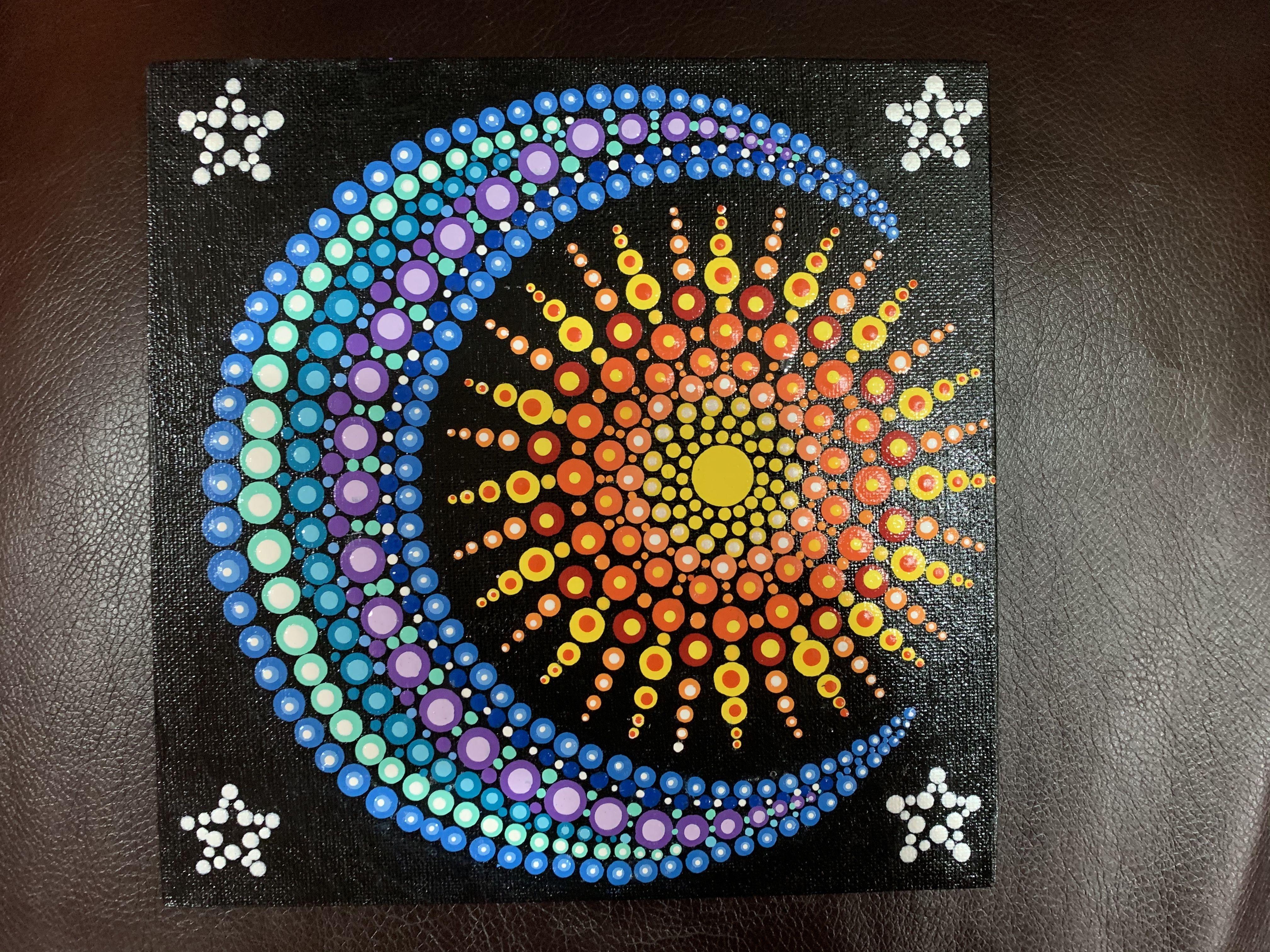 23+ Easy dot mandala patterns ideas