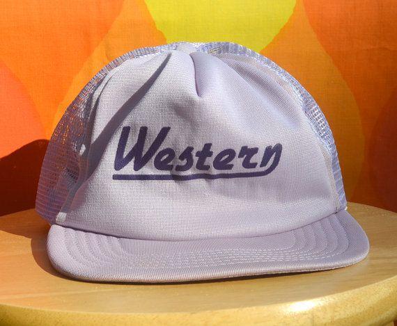 0996d7ee19da4c 70s vintage foam trucker mesh hat WESTERN carolina university catamounts  WCU snapback roach baseball cap by skippyhaha