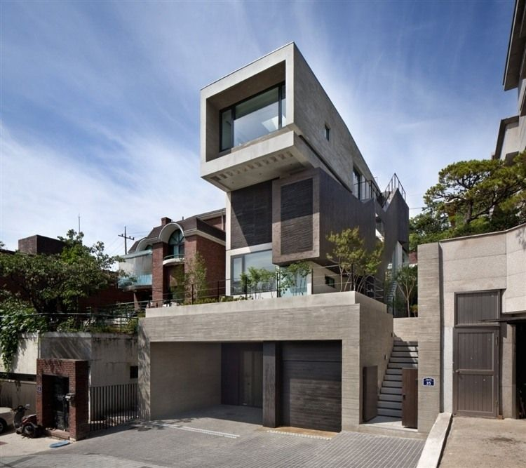 H house by bang by min this amazing original residence by south korean architects bang by min is located in seoul enjoy